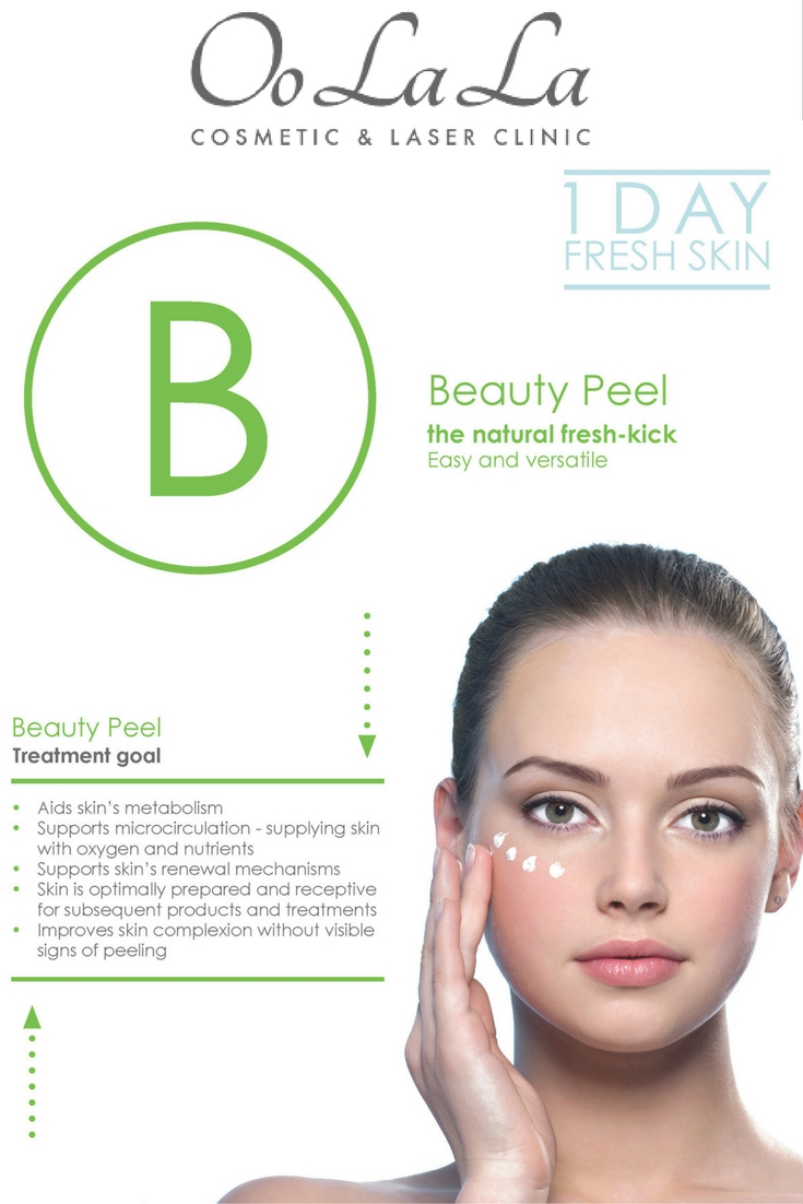 We are launching the B peels at a treatment price of $ 220 per peel. The Oolala Professional team are here to Help.